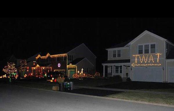 Christmas twat