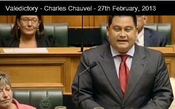 Chauvel valedictory