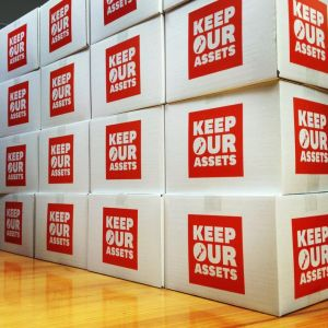 Asset petition boxes