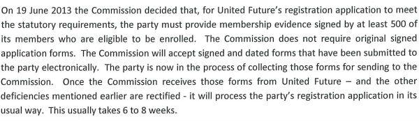 EC membership 2