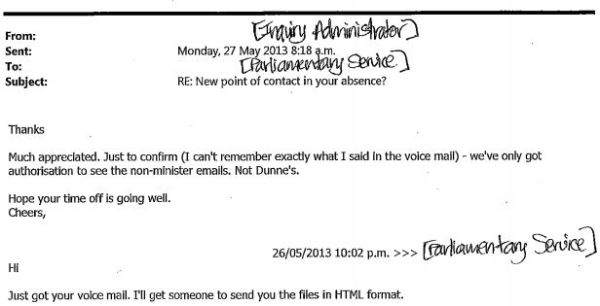 Henry email 27 May 1