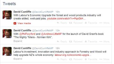 Cunliffe forest tweets.
