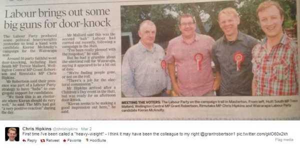 Labour MPs Masterton