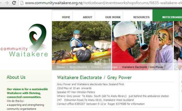 Waitakere Grey power