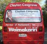 Cosgrove van sign
