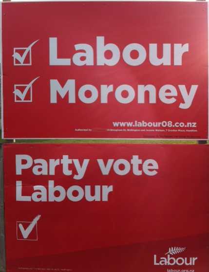 Moroney hoarding