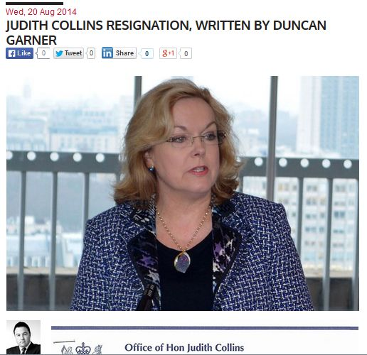 Collins resignation hoax new headline