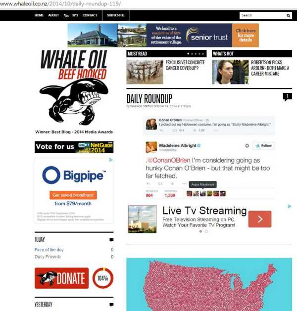 Whale Daily Roundup