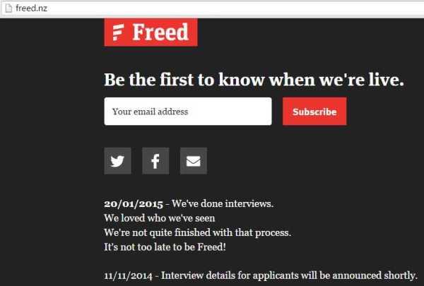 FreedWebsite