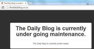 DailyBlogUnderRepair