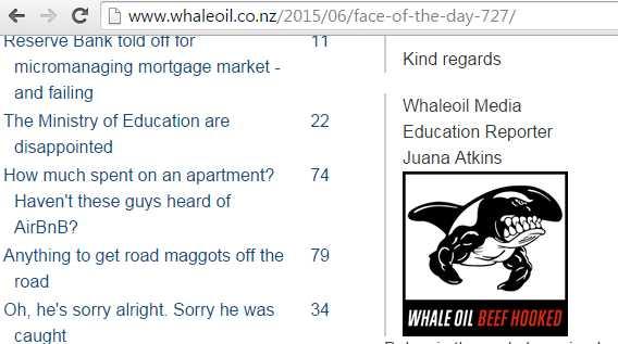 WhaleoilEducationReporter