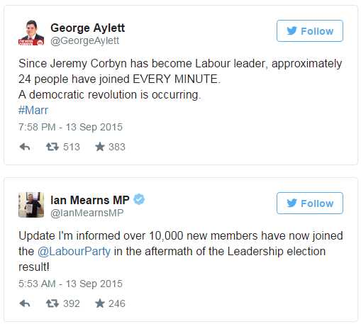 CorbynTweets