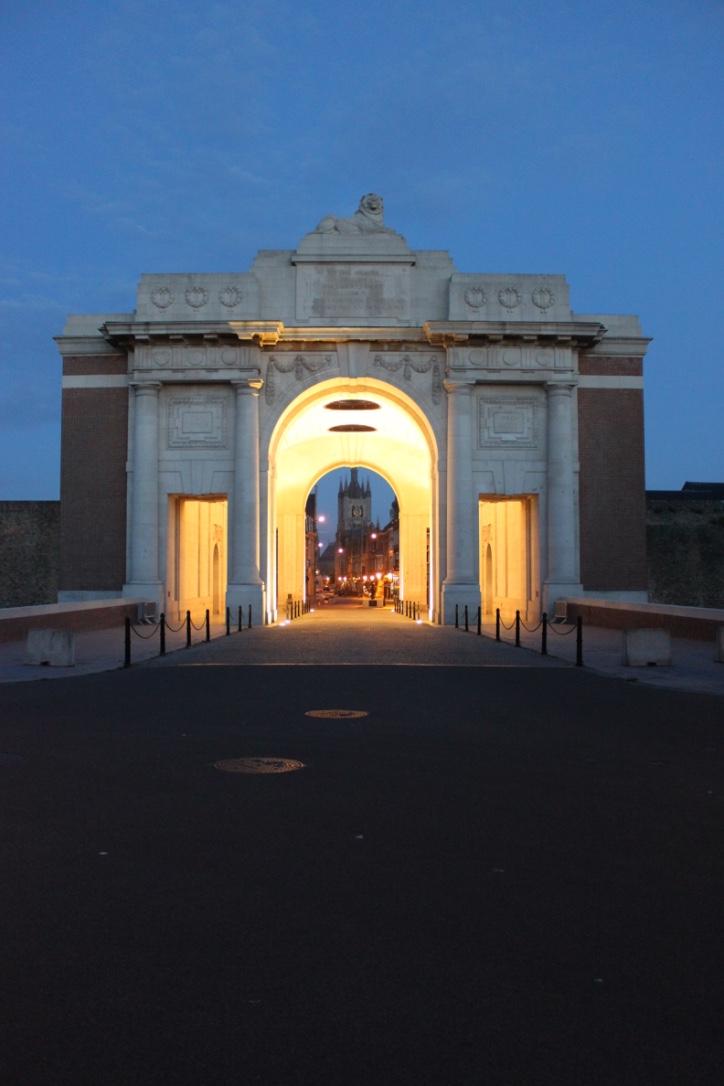 Menin Gate Dawn