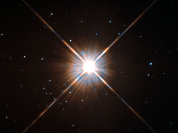 New shot of Proxima Centauri, our nearest neighbour