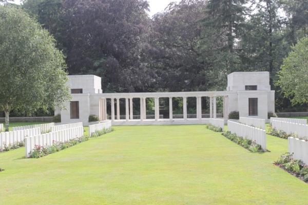 NZ Memorial Buttes New British Cemetery