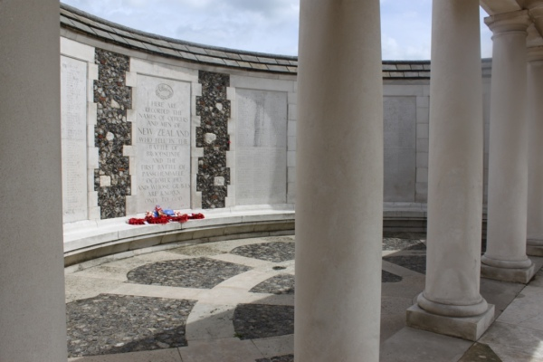 NZ Memorial Tyne Cot Cemetery