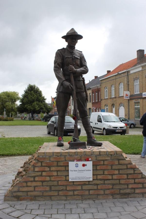 NZ Soldier Statue Messines