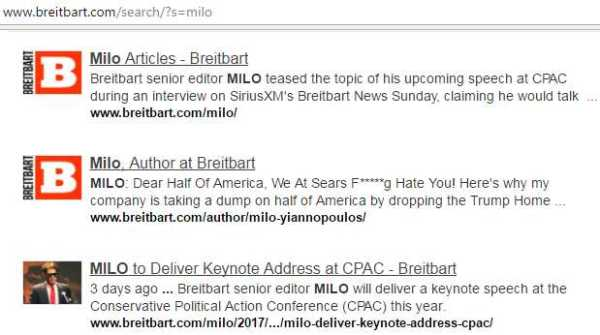 breitbartmilosearch