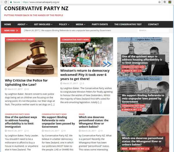 ConservativePartyWebsite