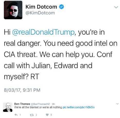 Dotcom-Trump